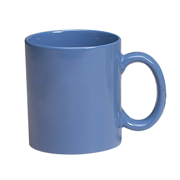 Ocean Blue - Colored Stoneware Mug With C-shape Handle, 11 Oz Photo