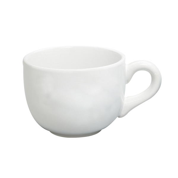 White - Ceramic Soup Mug, 15 Oz Photo