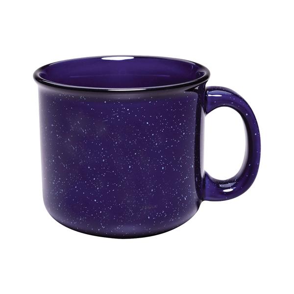 Campfire - Cobalt - 15 Oz. Ceramic Mug Photo