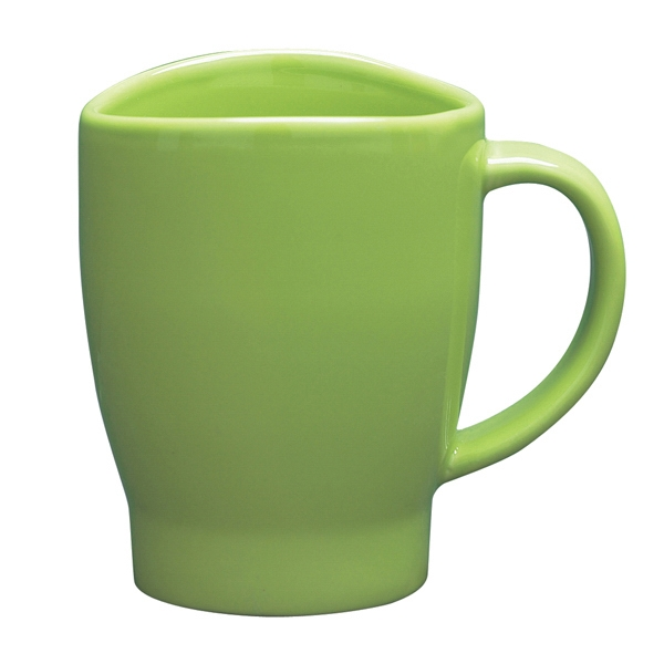 Wave - Lime Green - 14 Oz. Mug With Curved Rim Photo