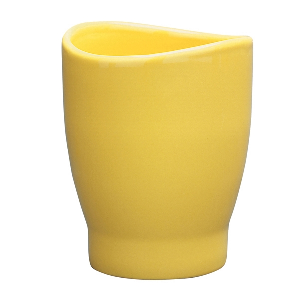 Wave - Yellow - 14 Oz. Mug With Curved Rim Photo