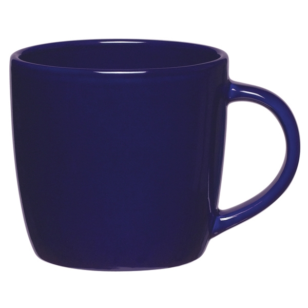 Cobalt Blue - Ceramic Cafe Mug, 12 Oz Photo