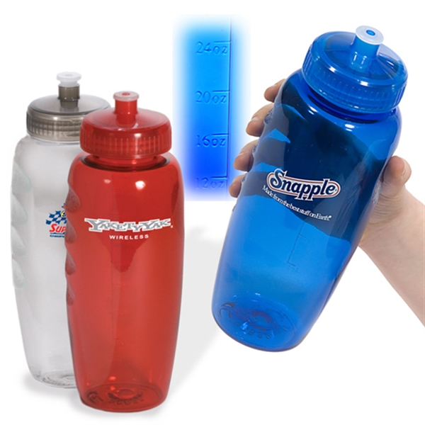 Polyclear (tm) Eco-responsible (tm) - Gripper Sports Bottle, Bpa Free, 30 Oz Photo