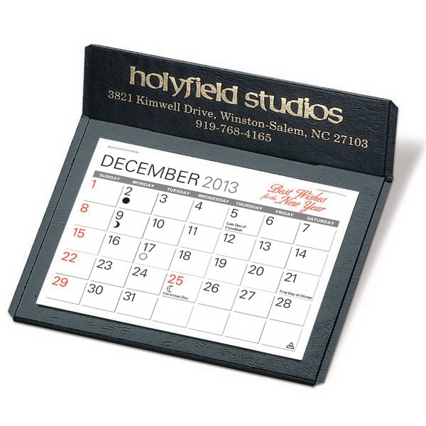"The Putnam - Monthly Desk Calendar With 4 3/8"" X 3 1/4"" Memo Style Pad Photo"