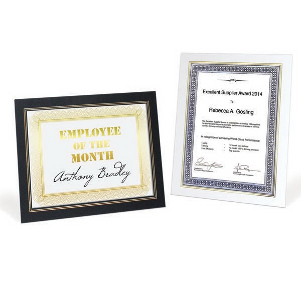 Certificate Frame Photo