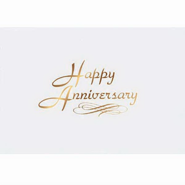 "Everyday Anniversary Note Card, 3 1/2"" X 5"" Photo"