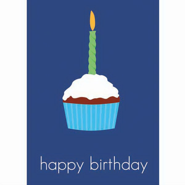 "3 1/2"" X 5"" Everyday Birthday Note Card Photo"