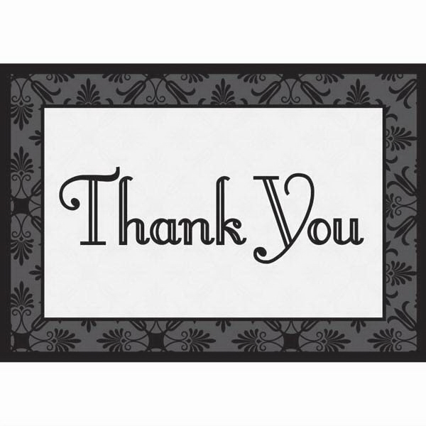 "3 1/2"" X 5"" Everyday Thank You Note Card Photo"