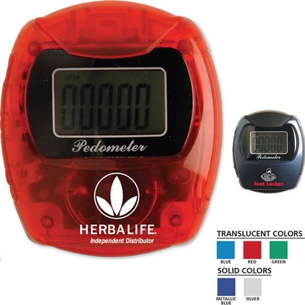 Marathon - Pedometer That Attaches Easily To The Top Of Pants, Belts Or Pockets Photo