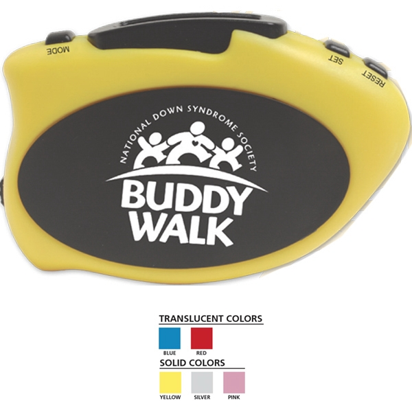 Step-it Up Pedometer (tm) - Pedometer That Counts Number Of Steps And Calories Burned Photo