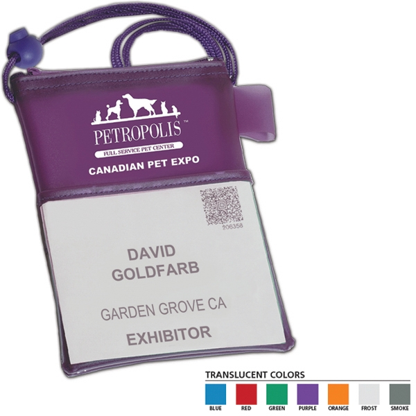 Tradeshow Badge Holder Photo