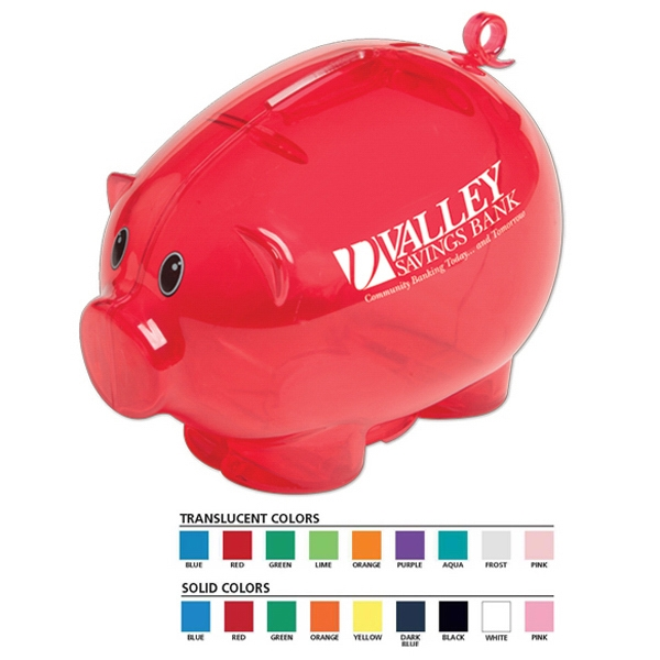 Action - Piggy Bank. Tail Moves As The Coins Are Deposited Photo