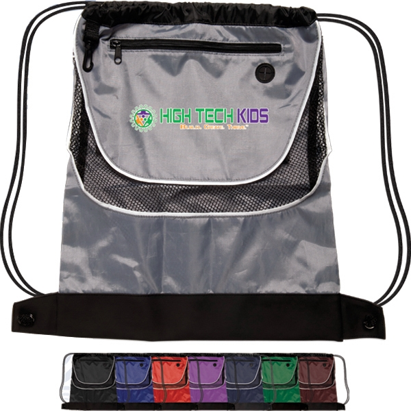 Tournament - Two-tone 210 Denier Polyester Backpack Photo