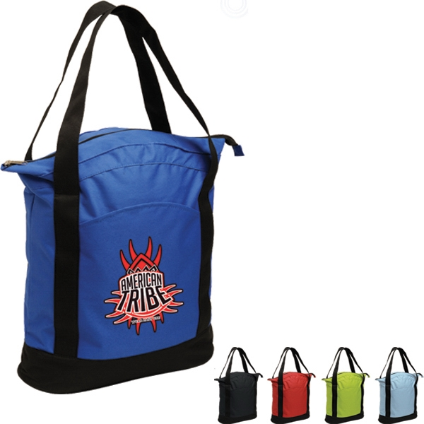 "Adventure - Tote Bag, Constructed Of 600 Denier Polyester With 22"" Handles Photo"
