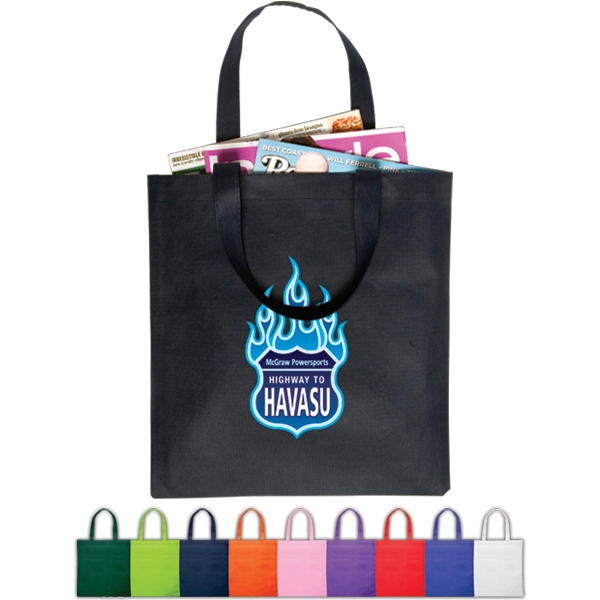 Value Tote Constructed Of 80 Gsm Non-woven Polypropylene Photo