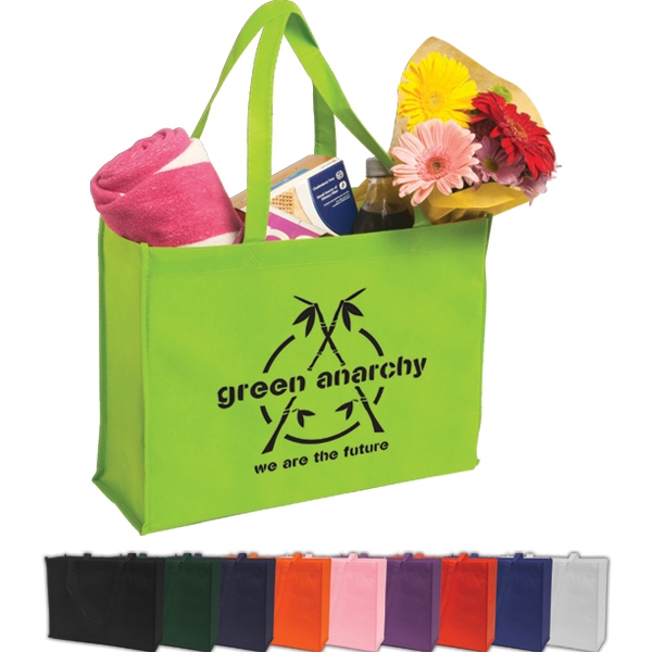 Shopping Tote Constructed Of 80 Gsm Non-woven Polypropylene Photo