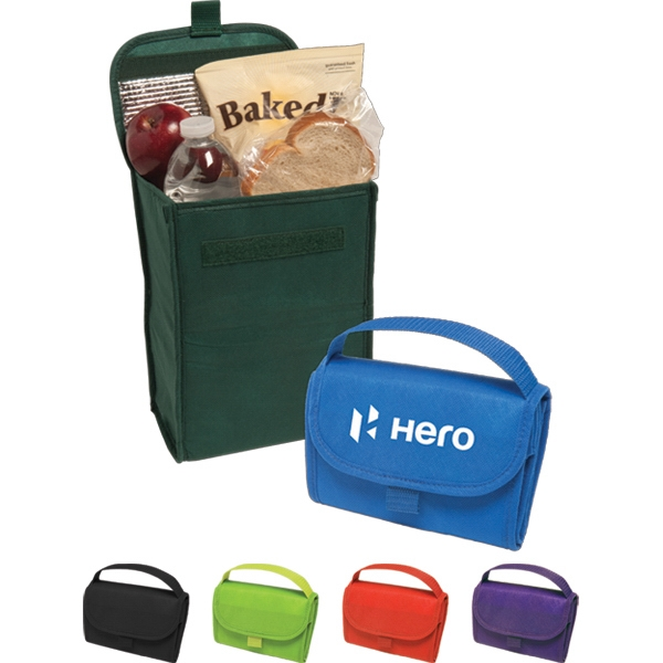 Non-woven Compact And Foldable Lunch Bag Photo