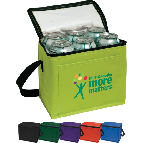 "6-pack Cooler With 16"" Carry Handles Photo"