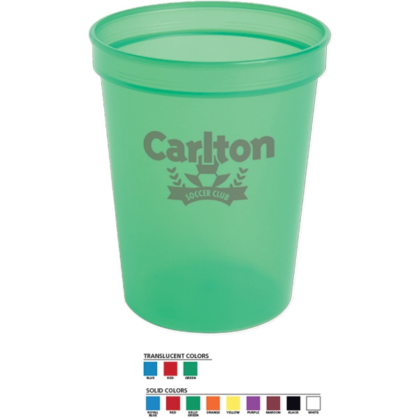 Stadium Cup. 16 Oz Bpa Free Photo