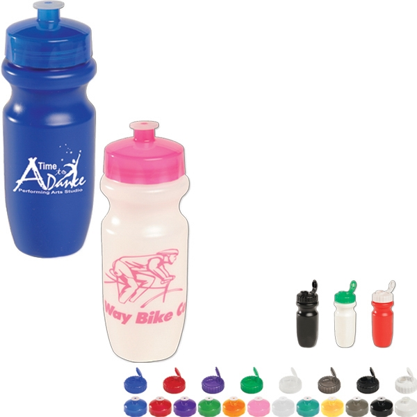 Bike Bottle. 20 Oz Bpa Free Photo