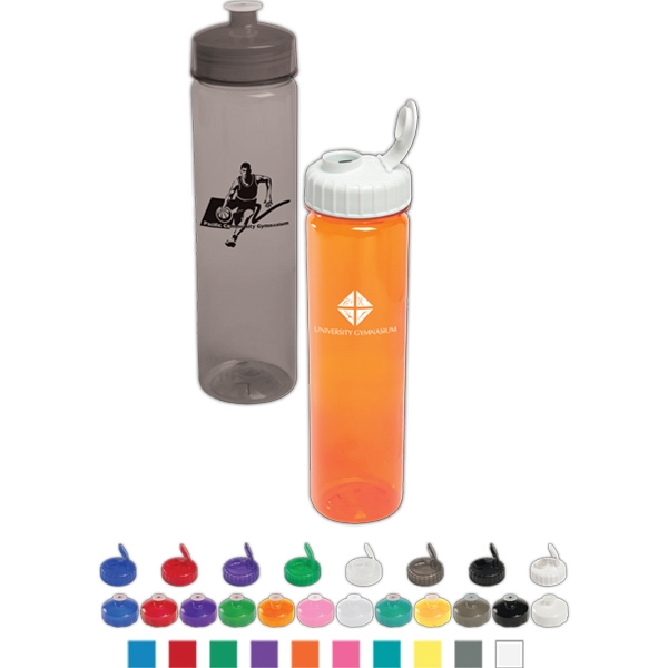 Polysure (tm) - Sport Bottle. 24 Oz Made From Pet Material Photo