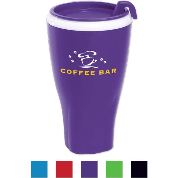 Twister Tumbler (tm) - Tumbler With Matching Lid. 16 Oz Photo