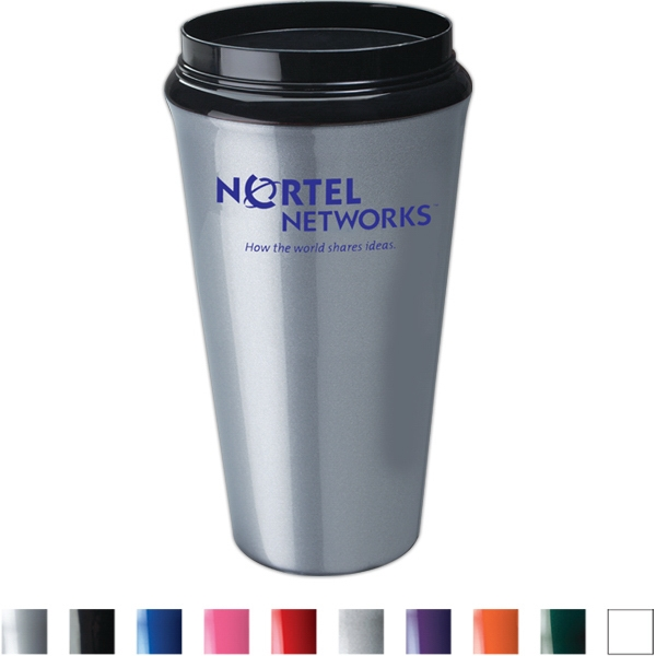 Infinity - Double Insulated Tumbler With High Gloss Finish. 16 Oz Capacity Photo