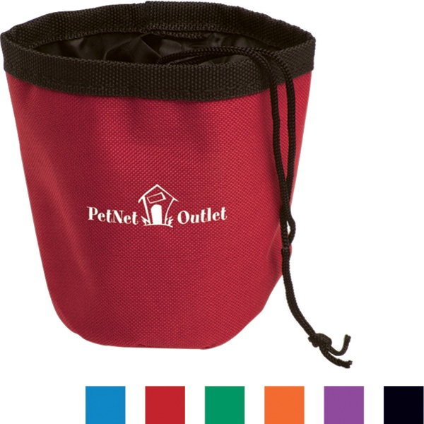 Perky - Pet Treat Container Made From 600 Denier Polyester Photo