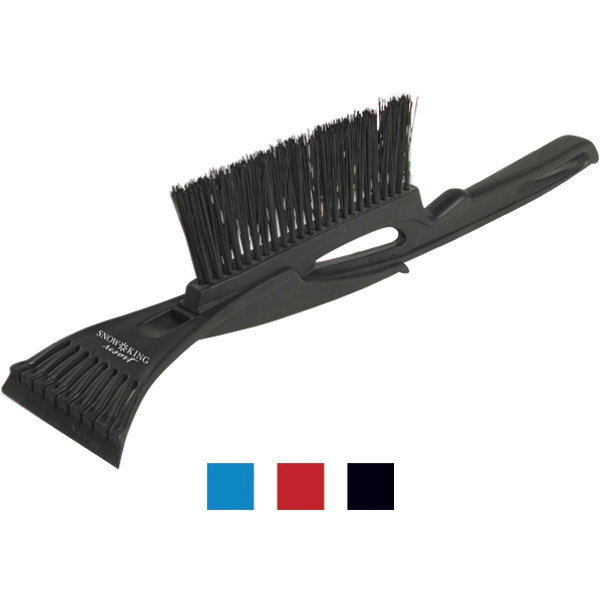 Great Lakes - Ice Scraper With Brush. Separates For Easy Storage In Glove Compartment Photo