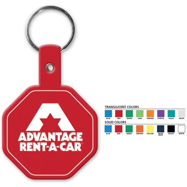 Stop Sign - Shaped Key Tag Photo