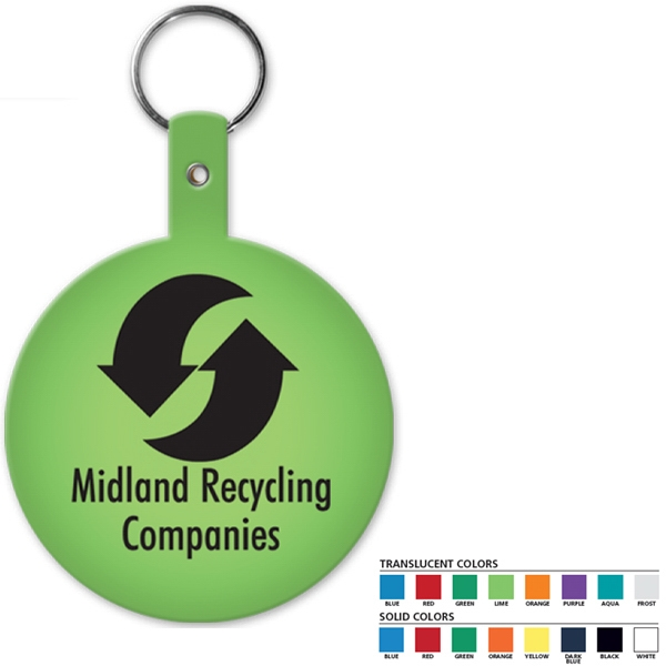 Round - Shaped Key Tag Photo