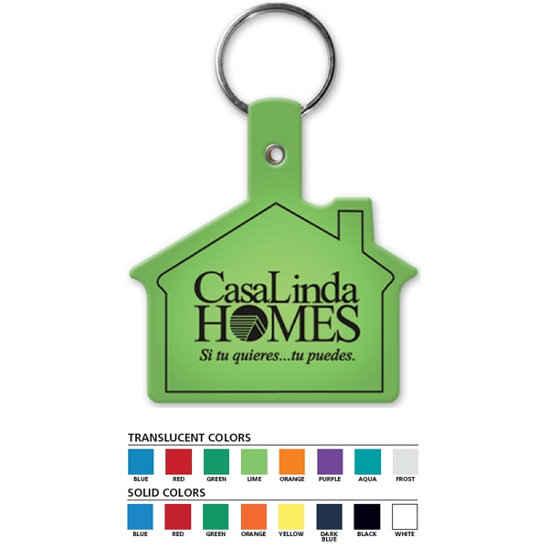 House - Shaped Key Tag Photo