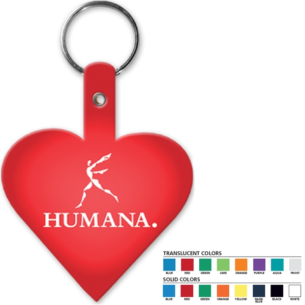 Heart - Shaped Key Tag Photo