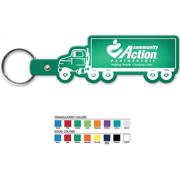 Truck - Shaped Key Tag Photo