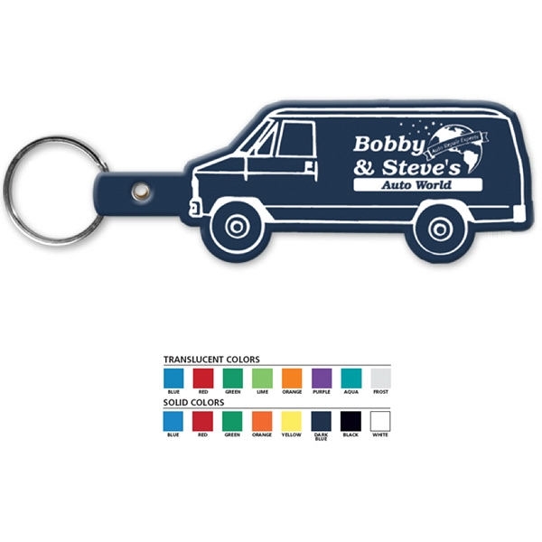 Van - Shaped Key Tag Photo