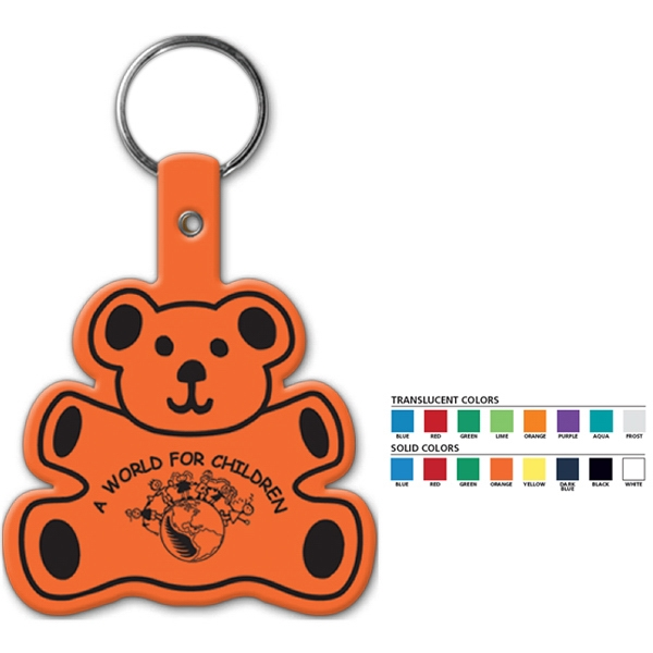 Bear - Shaped Key Tag Photo