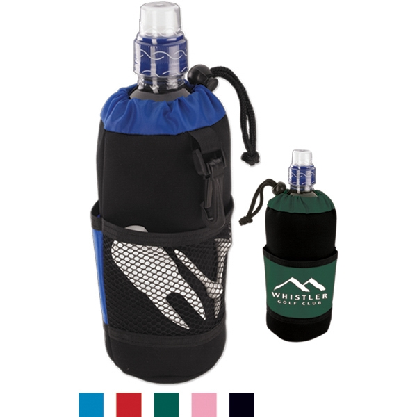 Quencher - Bottle Holder Made From Neoprene Like Fabric And Vinyl Photo