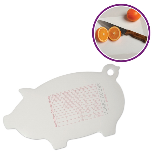 Flex-it (tm) - Pig Shaped, Flexible Cutting Board Photo