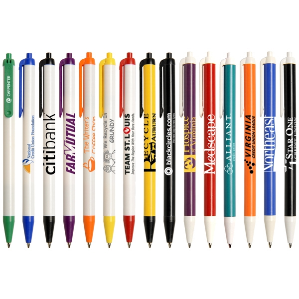 Advantage - Retractable Pen With Medium Point Black Ink Refill Photo