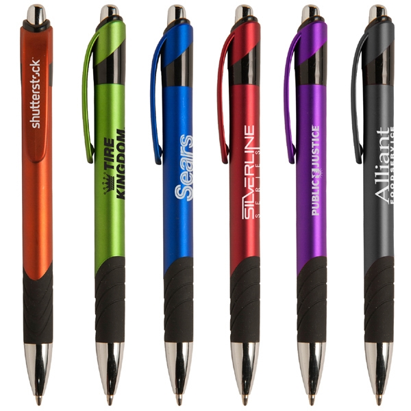 Auburn Mgc - Modern Retractable Ballpoint Pen With Sleek Grip Photo