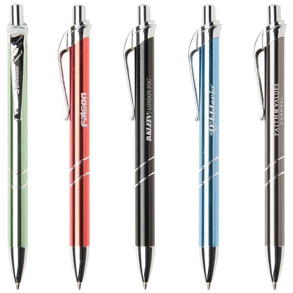 Cordoba - Retractable Ballpoint Pen With Anodized Aluminum Barrel With Chrome Accents Photo