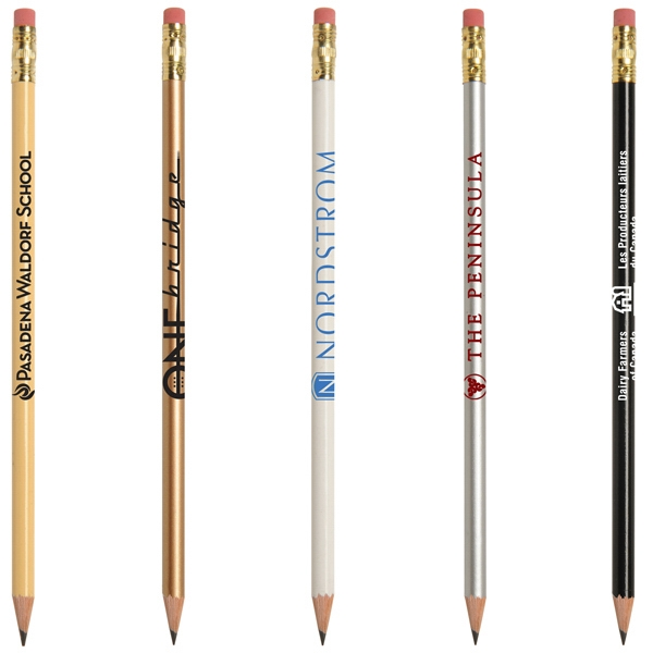 "Jo-Bee Bridge Pencil - Slender round pencil comes pre-sharpened and is 6"" long."