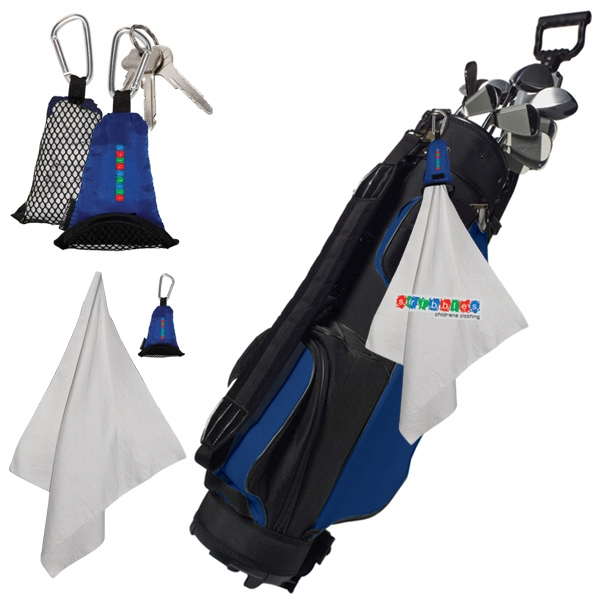 Multi-purpose Towel With Nylon And Mesh Pouch Photo