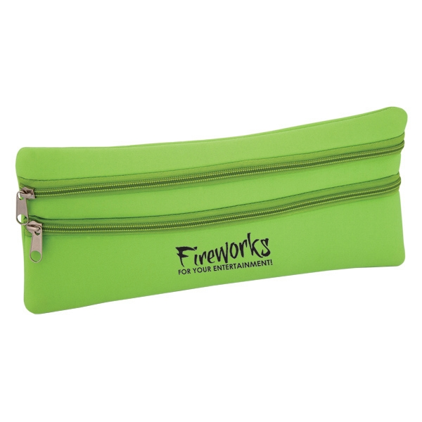 "Neoprene Computer Accessory Pouch, 12"" W X 5.5"" H Photo"