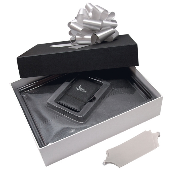 Black Label - Padfolio And Jotter Gift Set Photo