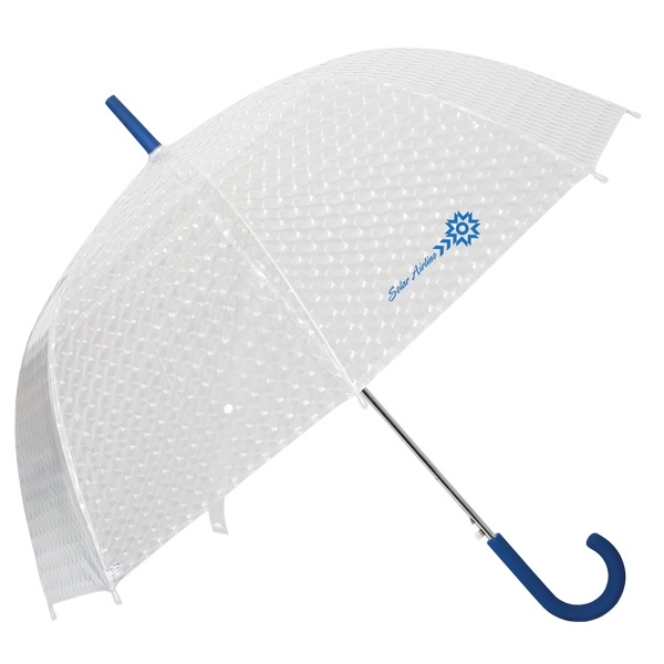 "Dome Shaped Umbrella, 23"" Rib Length, 46"" Arc Photo"