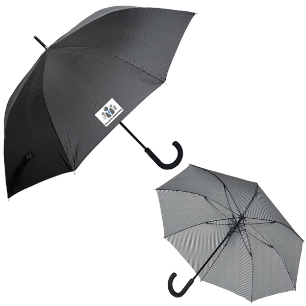 "Executive - Executive Pinstripe Umbrella, 23"" Rib Length, 46"" Arc Photo"