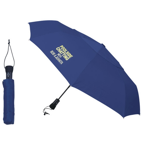 Telescopic Folding Umbrella Made Of Polyester Photo