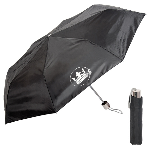 "Folding Windproof Umbrella, 21"" Rib Length, 42"" Arc Photo"