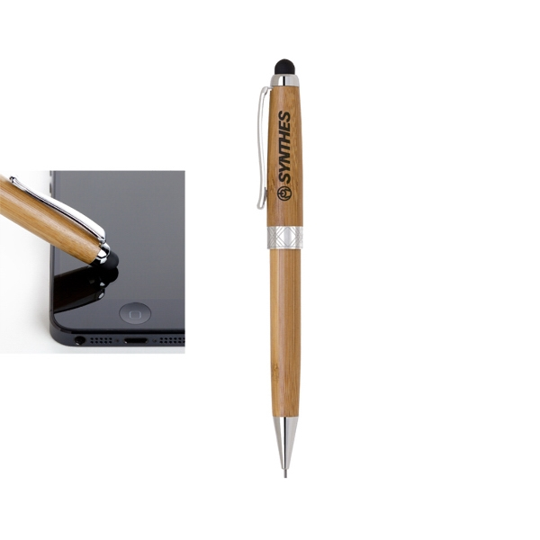 ECO-Friendly Bamboo stylus and pencil.